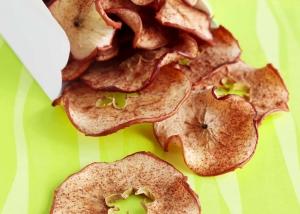 Gezond tussendoortje: appelchips