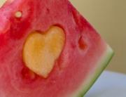 valentijnstractatie van fruit